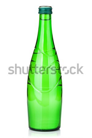 Glass water bottle Stock photo © karandaev