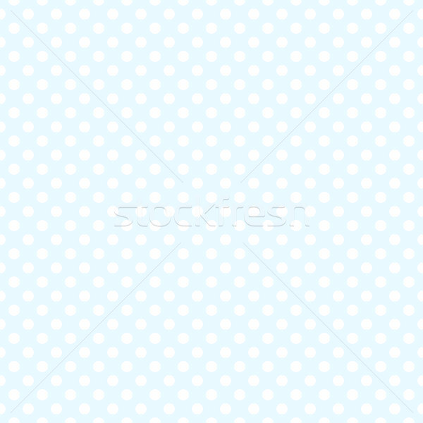 Seamless blue polka dot background Stock photo © karandaev