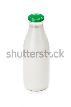 Milk bottle Stock photo © karandaev