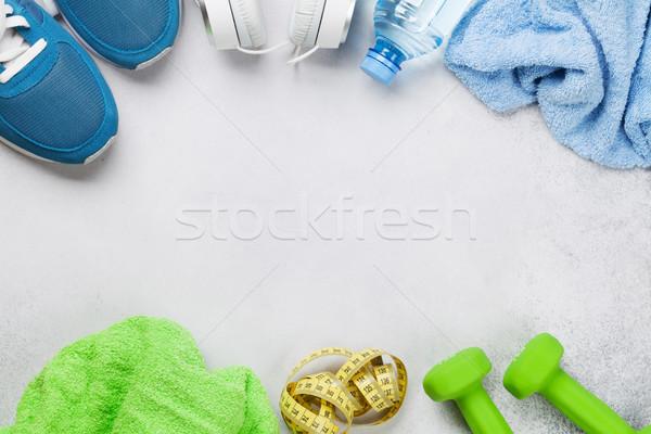 Fitness concept background Stock photo © karandaev