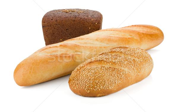 Three loafs of bread Stock photo © karandaev