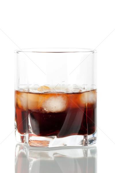 Black russian cocktail Stock photo © karandaev