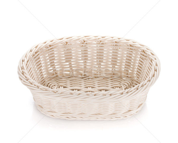 Empty food basket Stock photo © karandaev