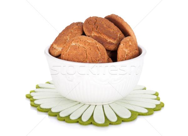 Bowl of cookies Stock photo © karandaev