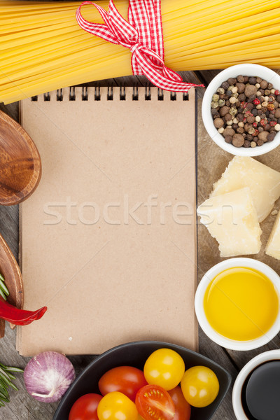 Herbs, spices and seasoning Stock photo © karandaev