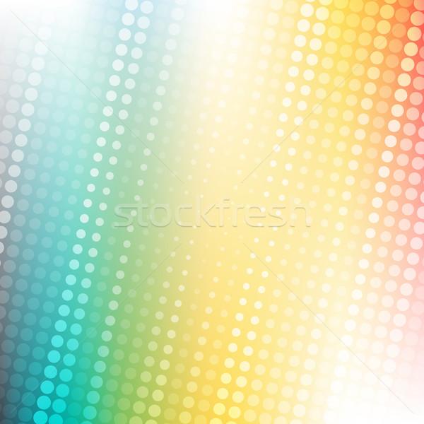 Soyut noktalı renkli eğim doku iş Stok fotoğraf © karandaev