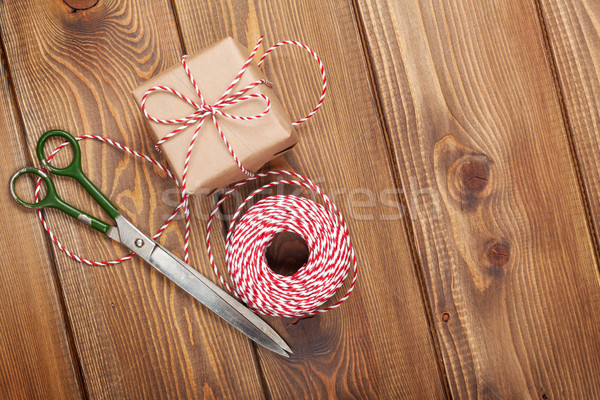Gift wrapping Stock photo © karandaev