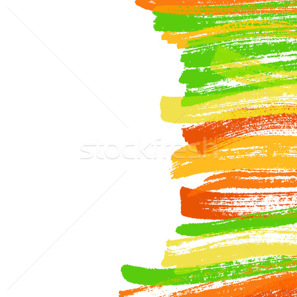 Paint brush strokes Stock photo © karandaev