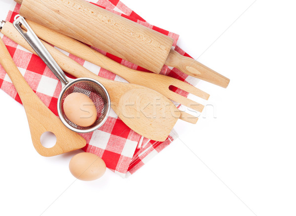 Kitchen utensils Stock photo © karandaev