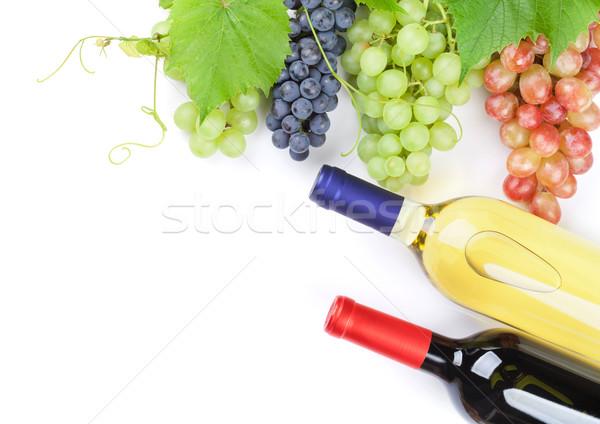 красный Purple белый виноград вино Сток-фото © karandaev