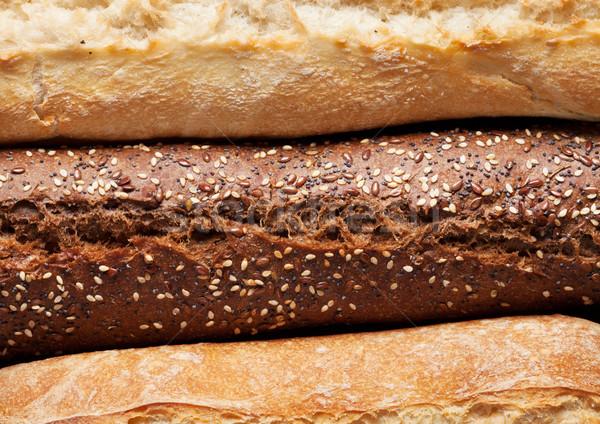 Mixed breads Stock photo © karandaev