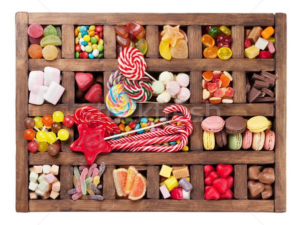 Сток-фото: красочный · конфеты · окна · проскурняк · конфеты · Top