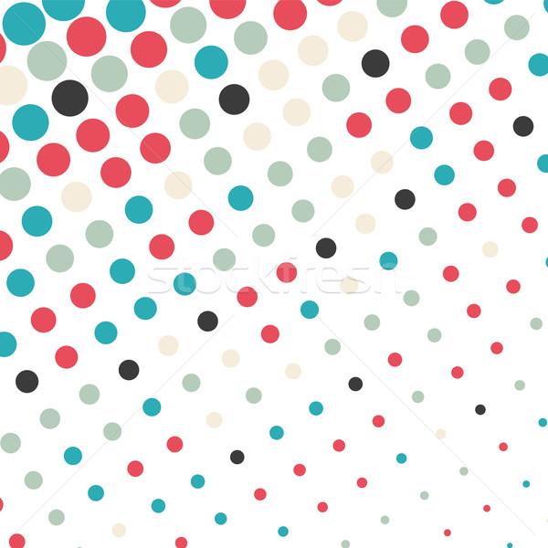 Absztrakt pontozott színes textúra üzlet terv Stock fotó © karandaev