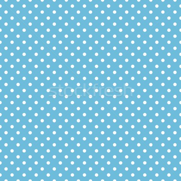 Végtelenített kék pötty minta művészet szövet Stock fotó © karandaev