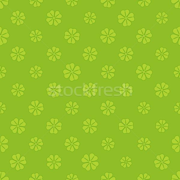 Trevo flores projeto grupo margarida Foto stock © karandaev