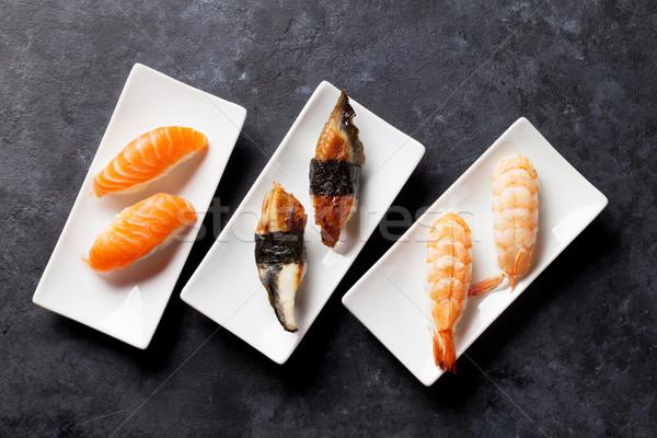 Sushi set Stock photo © karandaev