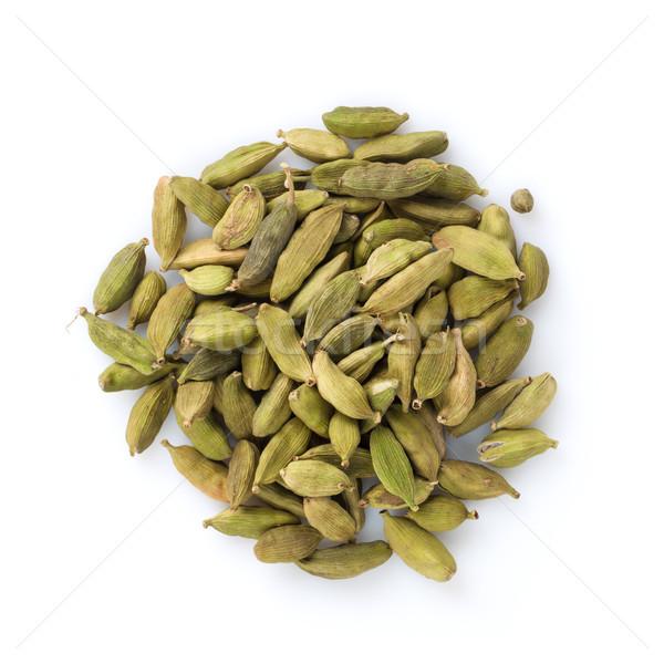Green cardamom spice Stock photo © karandaev