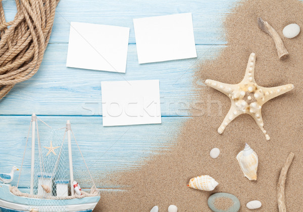Travel and vacation photo frames and items Stock photo © karandaev