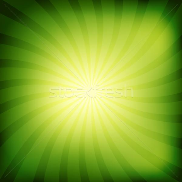 Colorido resumen sol luz retro Foto stock © karandaev