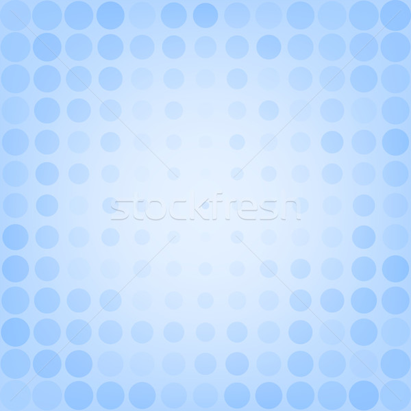 Abstract dotted blue background Stock photo © karandaev