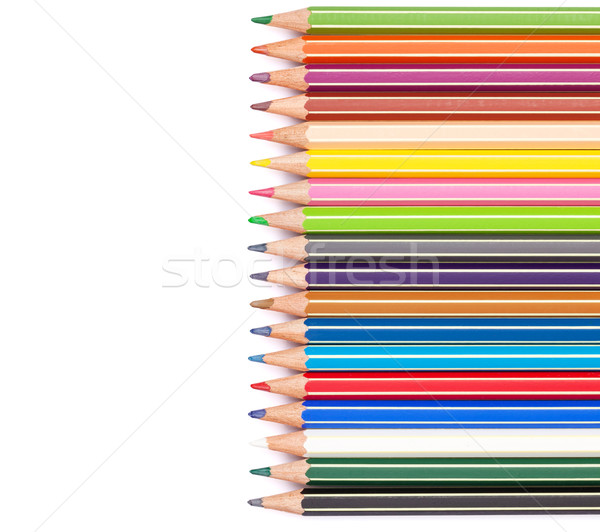 Colorful pencils Stock photo © karandaev