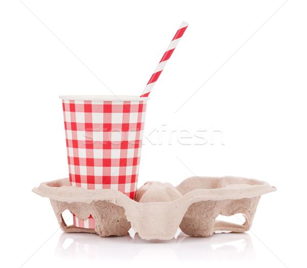 Paper cup Stock photo © karandaev