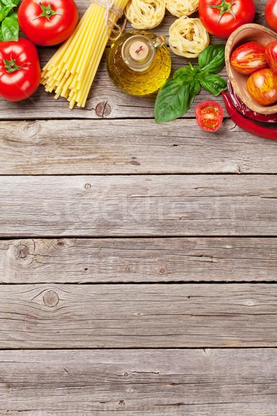 Italian food cooking Stock photo © karandaev
