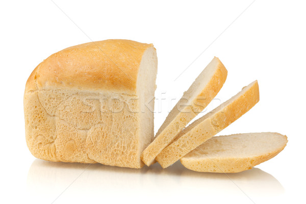 白パン 孤立した 白 食品 グループ ストックフォト © karandaev