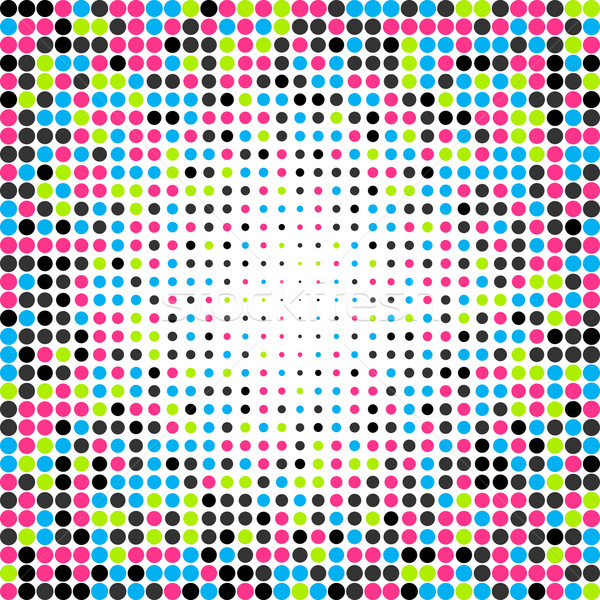 Abstract dotted colorful background Stock photo © karandaev