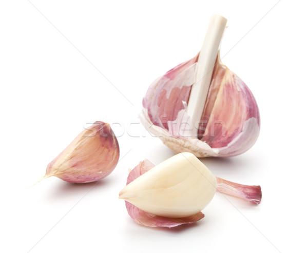 Garlic with shell removed Stock photo © karandaev