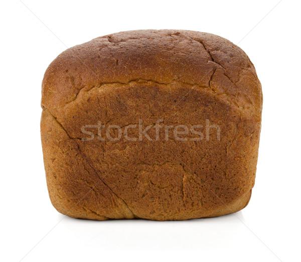 буханка рожь хлеб изолированный белый фон Сток-фото © karandaev