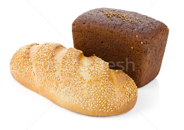 Two loafs of bread Stock photo © karandaev