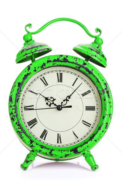 Vintage alarm clock Stock photo © karandaev
