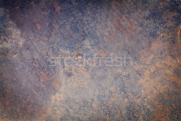古い 金属の質感 グランジ テクスチャ 抽象的な 金属 ストックフォト © karandaev