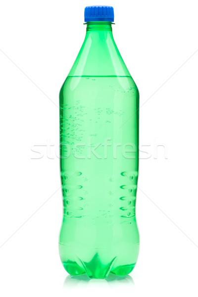 Stock fotó: Citrus · üdítő · üveg · izolált · fehér · gyümölcs