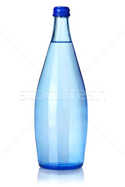 стекла бутылку соды воды изолированный белый Сток-фото © karandaev