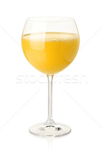Stock photo: Orange juice