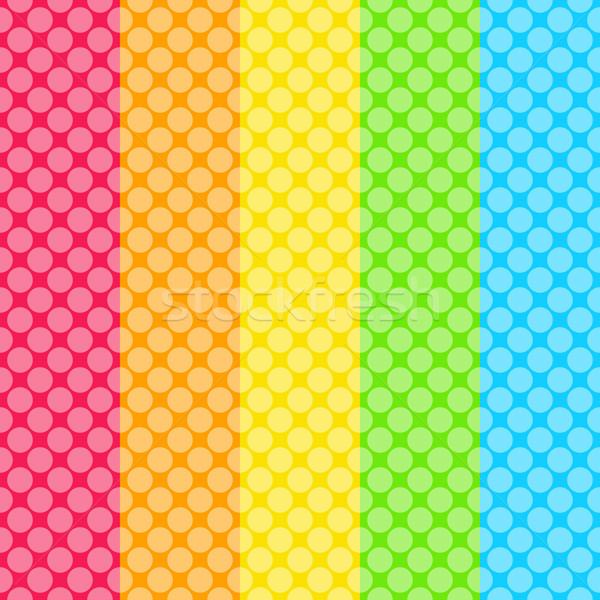 Résumé pointillé coloré texture affaires design Photo stock © karandaev