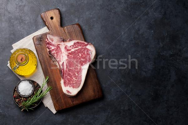 T-bone steak Stock photo © karandaev