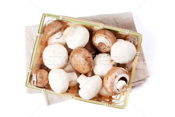 Champignon mushrooms Stock photo © karandaev