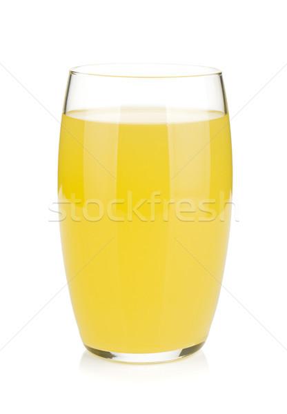 Glass of lemon juice Stock photo © karandaev