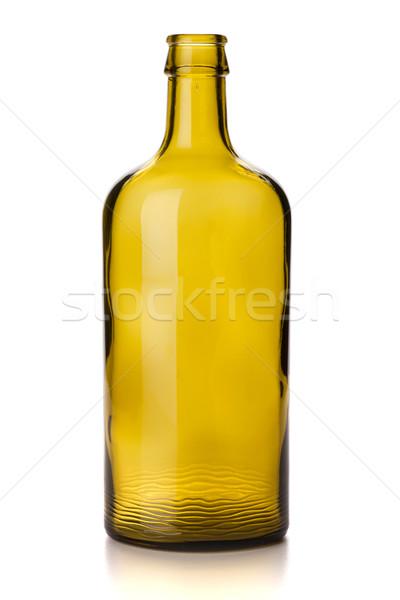 Empty vintage bottle Stock photo © karandaev