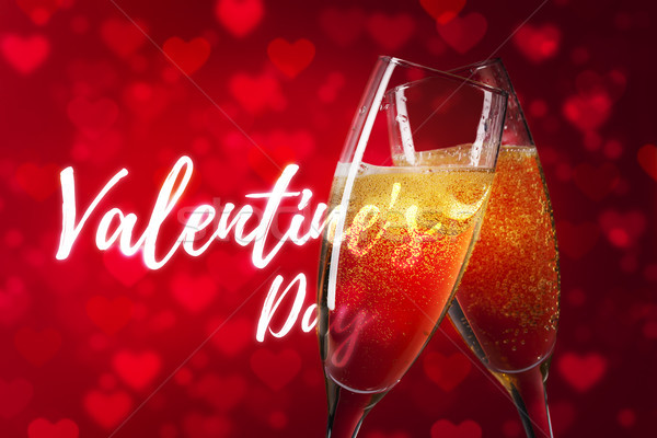 Stock photo: Happy Valentine's Day