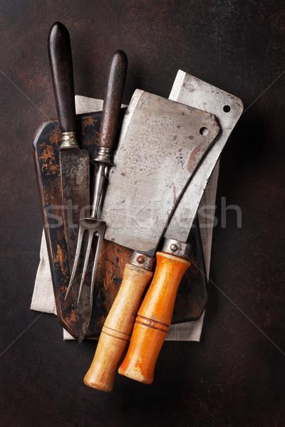 Stock photo: Vintage kitchen utensils