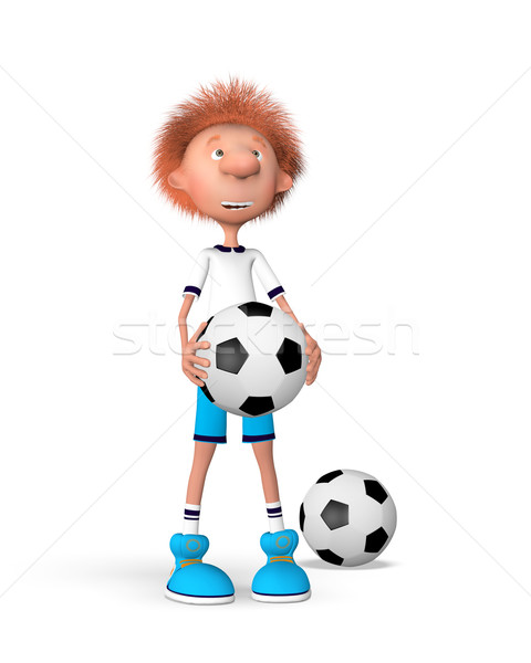 訓練 開始 ボール ゲーム ストックフォト © karelin721