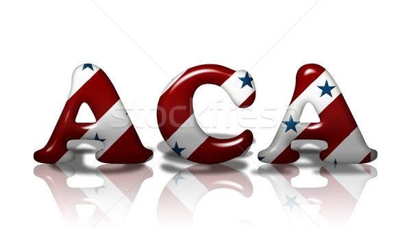 American Affordable Care Act Stock photo © karenr