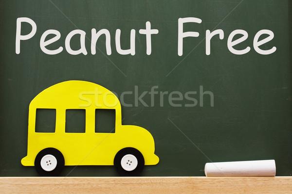 Escuelas maní libre pizarra palabras educación Foto stock © karenr