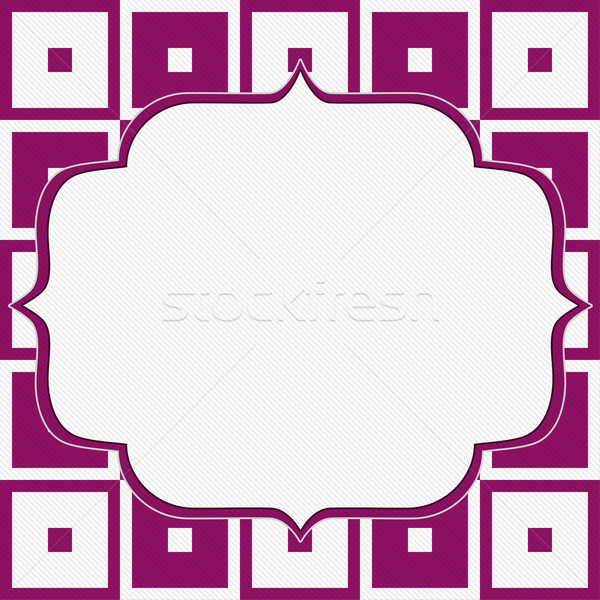 Pink and White Tapestry Square Fabric Background Stock photo © karenr