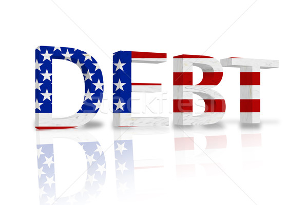 United States Debt Stock photo © karenr