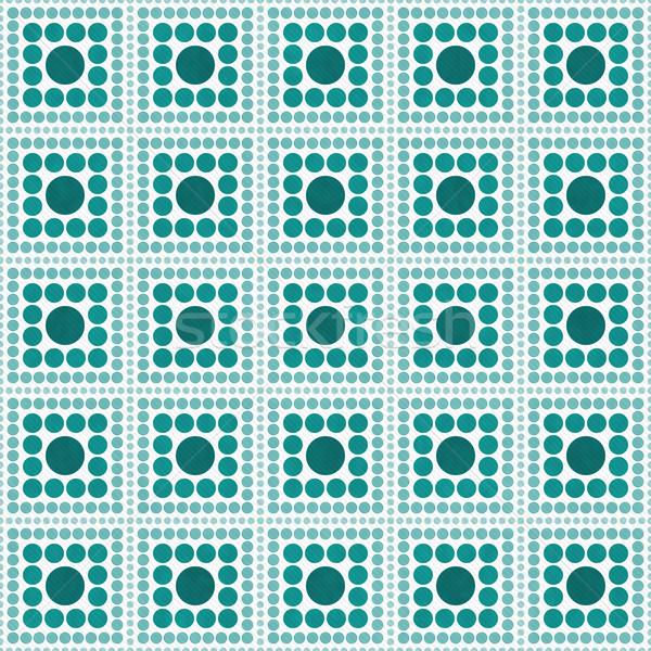 Witte vierkante abstract ontwerp tegel Stockfoto © karenr